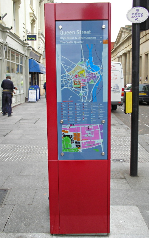 Exeter Red Way Finding