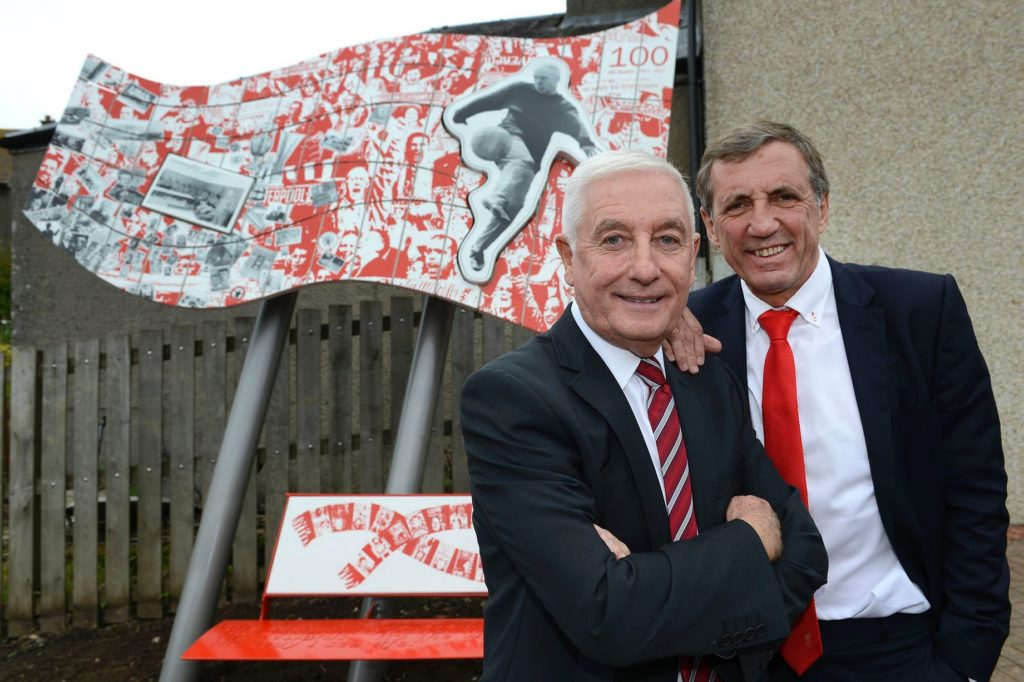 Memorial to footballing great, Bill Shankly unveiled at his Ayrshire mining village home, Glenbuck