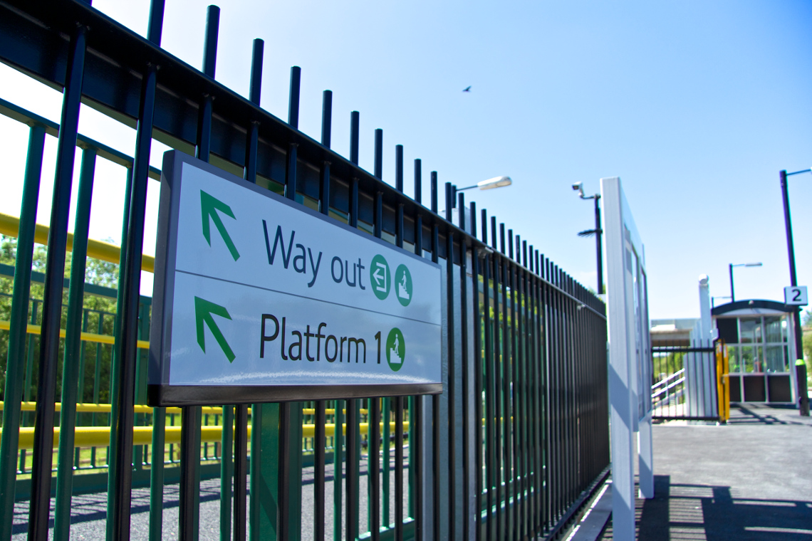 Stratford-Upon-Avon Parkway Station Signage