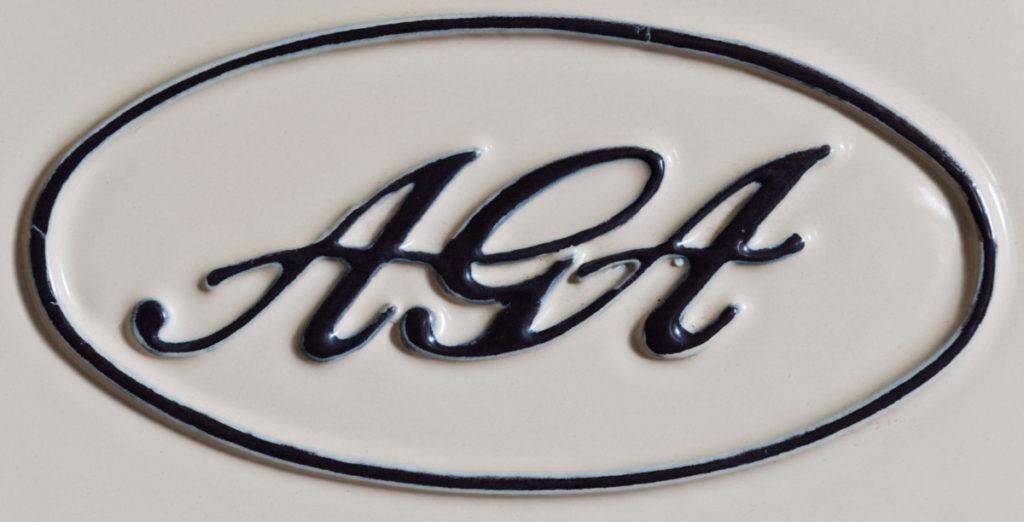 Enamelled AGA Logo