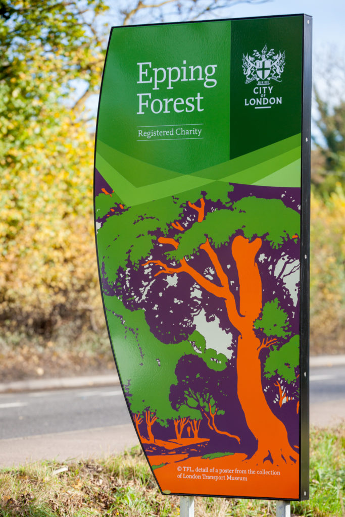 Epping Forest Gateway Signage