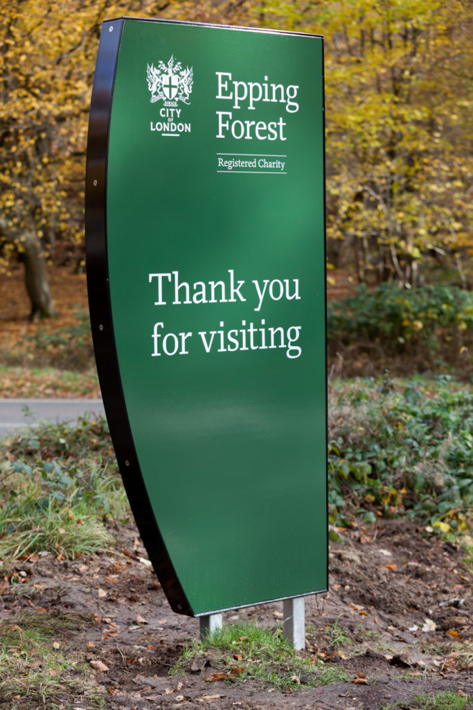 Epping Forrest Gateway Sign