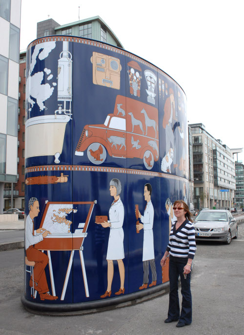 Dublin Gasworks - Public Art Large Photos