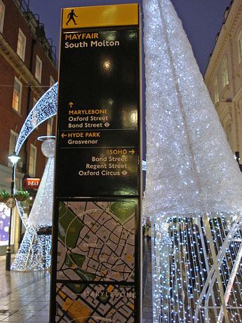 Legible London, Way Finding Scheme Minilith