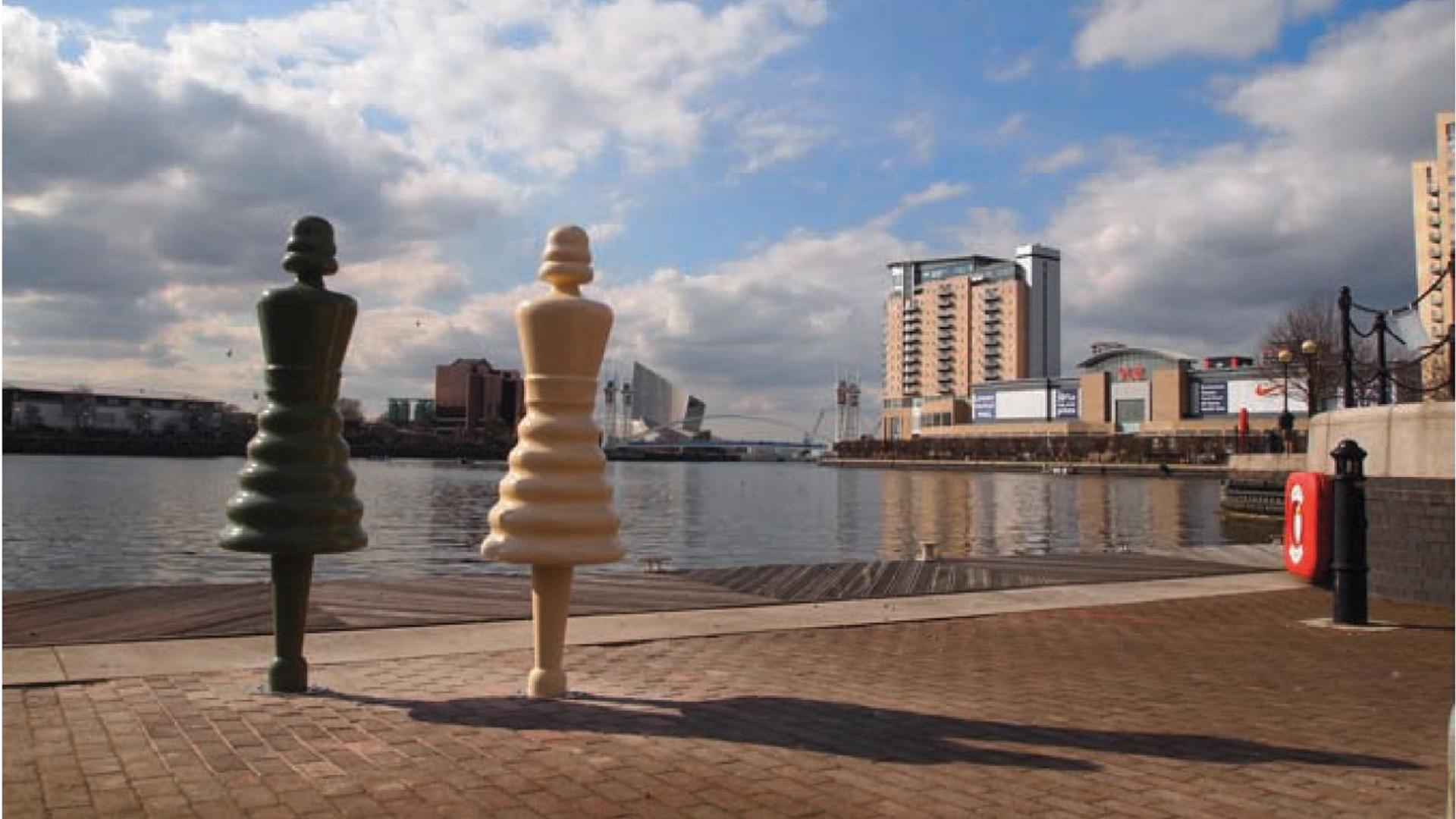 Salford Quays Factory Girls- Public Art